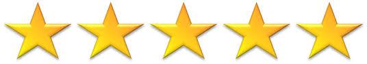 5 stars Amazon